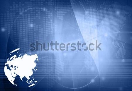 Foto stock: Europa · mapa · tecnología · estilo · resumen