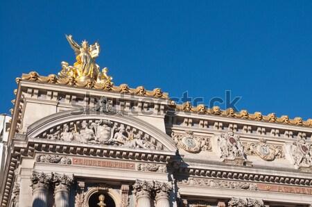 опера Париж один архитектурный город путешествия Сток-фото © ilolab