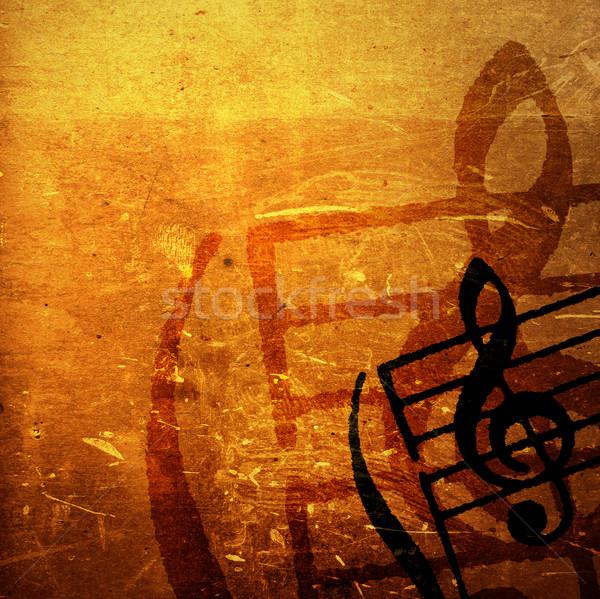Grunge melodía resumen texturas fondos espacio Foto stock © ilolab