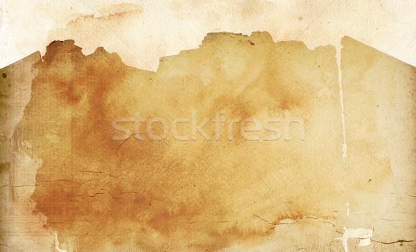 Vintage бумаги нуля текстуры идеальный пространстве Сток-фото © ilolab