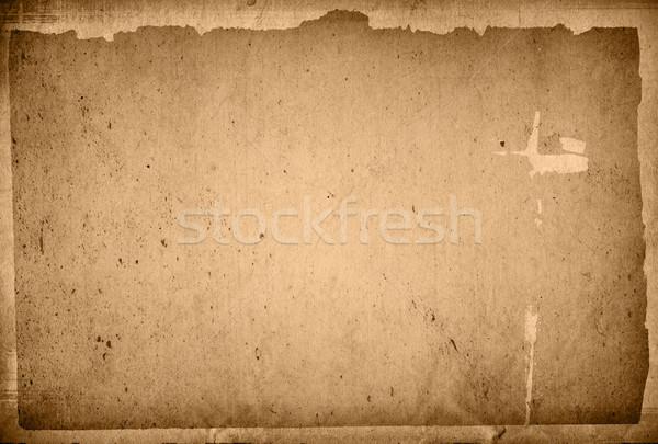 Vintage carta vecchia carta texture perfetto spazio Foto d'archivio © ilolab