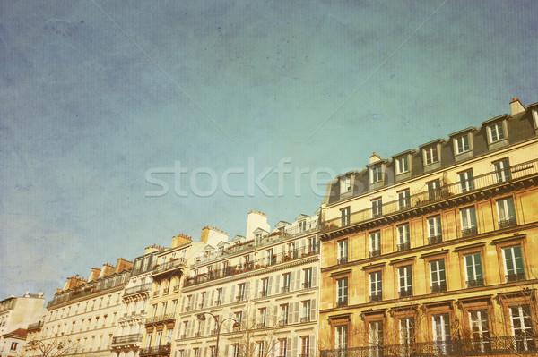 Antichi città costruzione Parigi cielo casa Foto d'archivio © ilolab