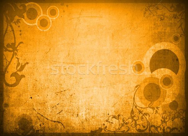 Horizons cadre détaillée grunge Photo stock © ilolab
