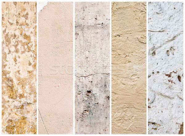 Meilleur ensemble mur résumé design rétro Photo stock © ilolab