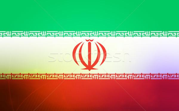 flag of iran Stock photo © ilolab