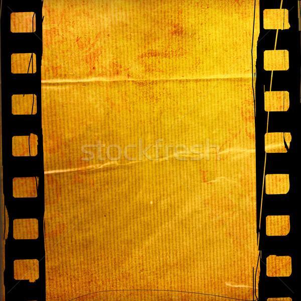 Stock fotó: Nagyszerű · filmszalag · textúrák · hátterek · űr · háttér