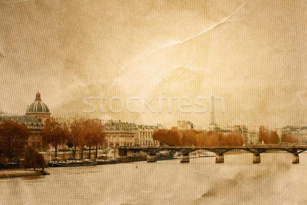 old-fashioned paris  Stock photo © ilolab
