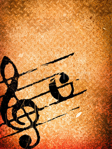 Grunge melodía texturas resumen fondos espacio Foto stock © ilolab