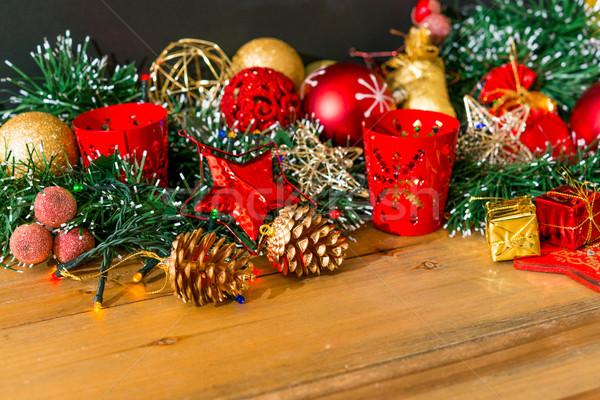 christmas decoration Stock photo © ilolab