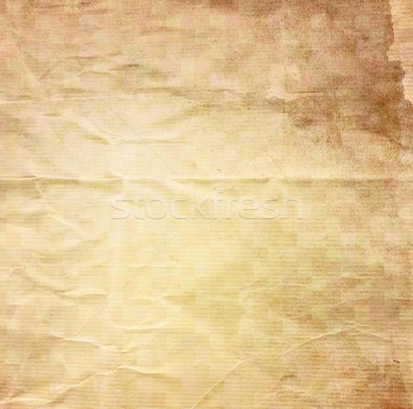 Vecchio carta texture vintage copia spazio Foto d'archivio © ilolab
