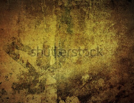 Brown grungy wal Stock photo © ilolab