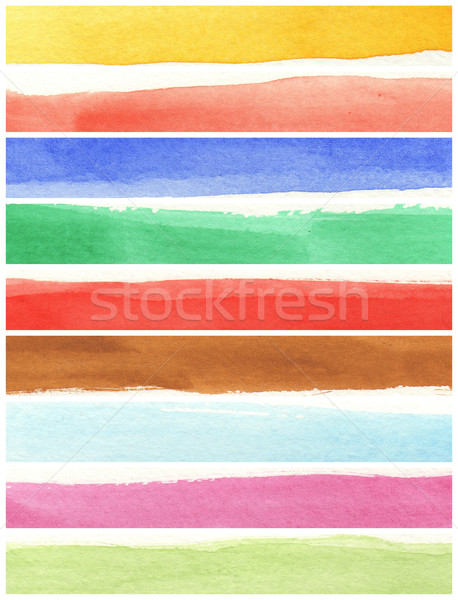 texture watercolor background painting Stock photo © ilolab