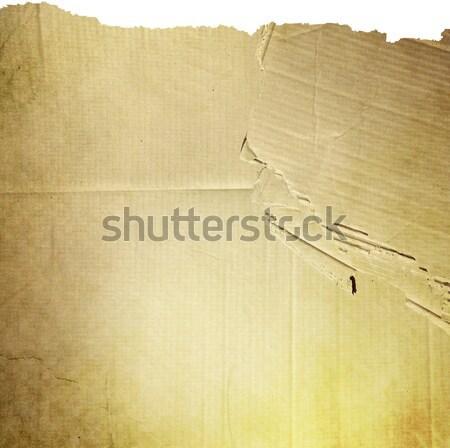 öreg elnyűtt papír papír textúra textúra rozsda Stock fotó © ilolab