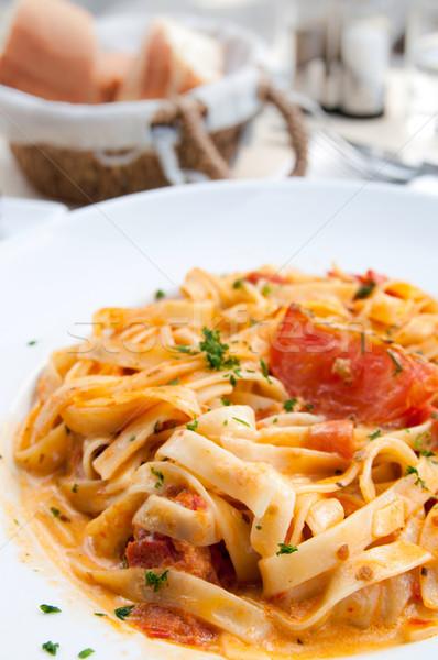 Italian meat sauce pasta Stock photo © ilolab