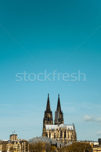 Gothic Cathedral in Cologne (Köln) Stock photo © ilolab