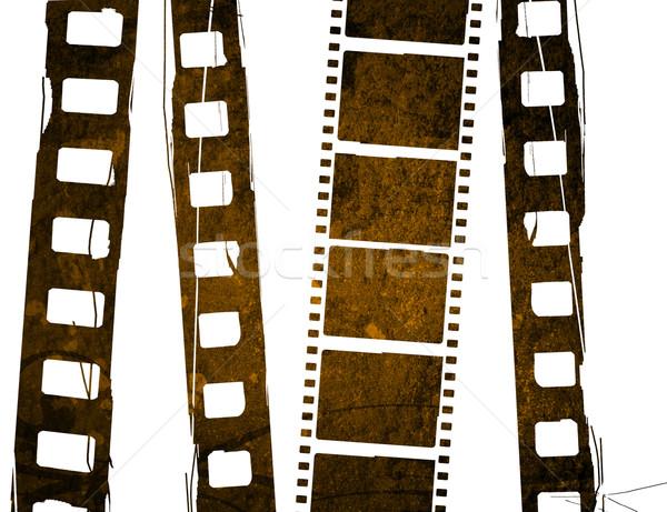 Magnifique bande de film horizons film film Photo stock © ilolab