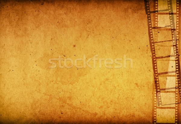 Grunge Film Frame effect Stock photo © ilolab
