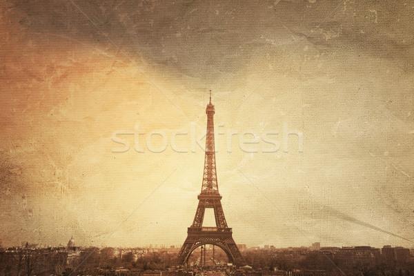 The Eiffel Tower Stock photo © ilolab
