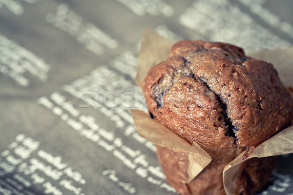 Сток-фото: домашний · бумаги · салфетку · десерта · Sweet