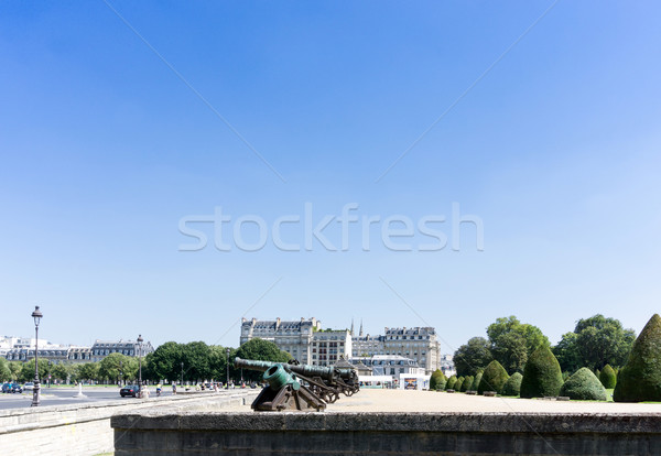 Les Invalides is a complex of buildings in the 7th arrondissemen Stock photo © ilolab