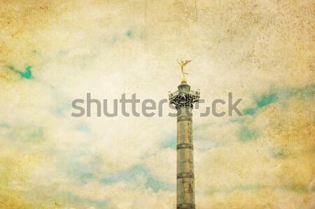 Place de la Bastille in Paris Stock photo © ilolab