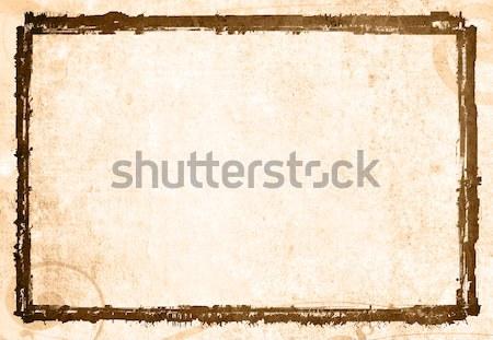Holz schmutzig Raum Text Papier Wand Stock foto © ilolab