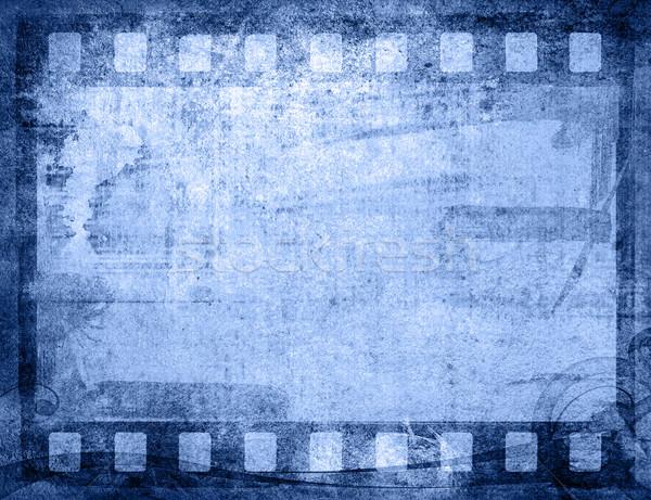 Nagyszerű filmszalag textúrák hátterek keret film Stock fotó © ilolab