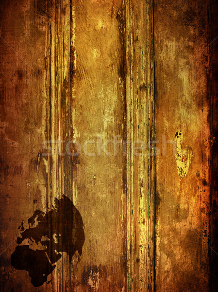 aged Europe map  Stock photo © ilolab