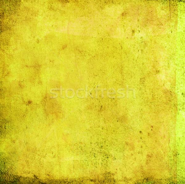 Frame grunge spazio carta texture muro Foto d'archivio © ilolab