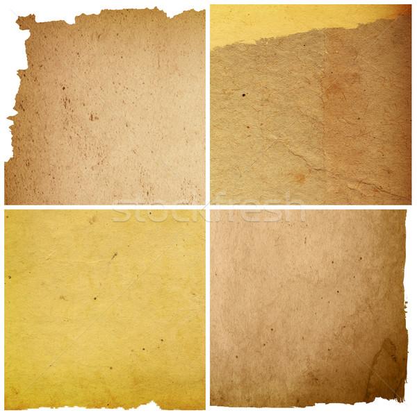 старые текстуру бумаги книга фон обои Сток-фото © ilolab