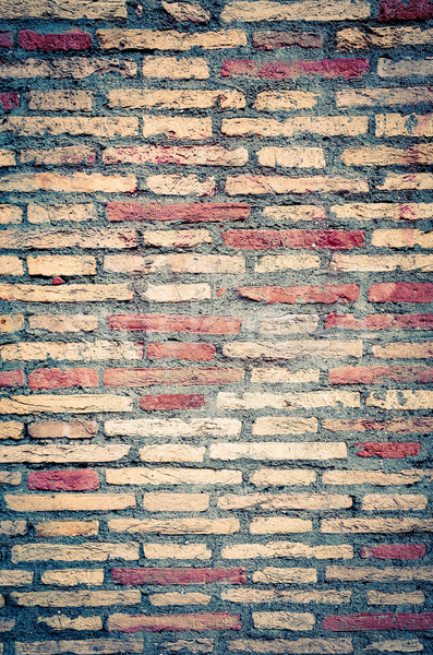 Old red brick wall textures  Stock photo © ilolab
