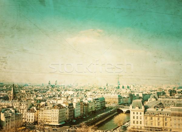Photo stock: Paris · France · espace · texte · image · ville