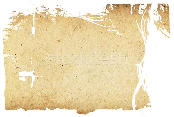 Eski kağıt dokular uzay metin görüntü kitap Stok fotoğraf © ilolab