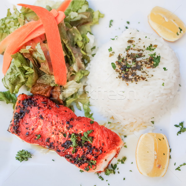 french cuisine dish Stock photo © ilolab