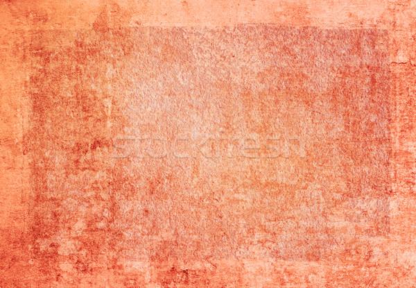 Гранж кадр подробный пространстве бумаги Сток-фото © ilolab