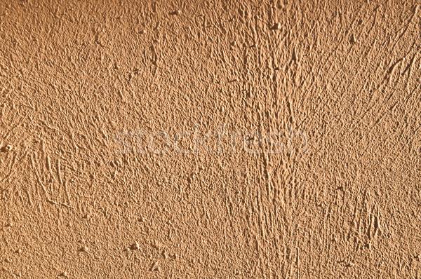 Kahverengi duvar muhteşem dokular dizayn Stok fotoğraf © ilolab