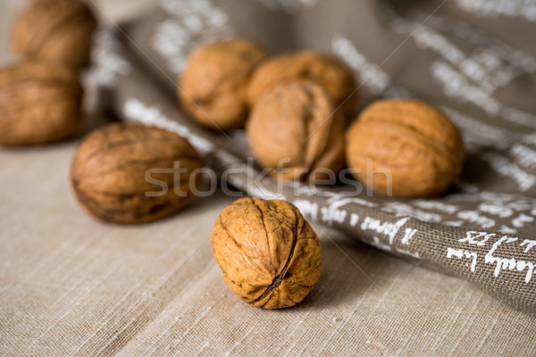 Stock photo: Vintage styled Mixed nuts