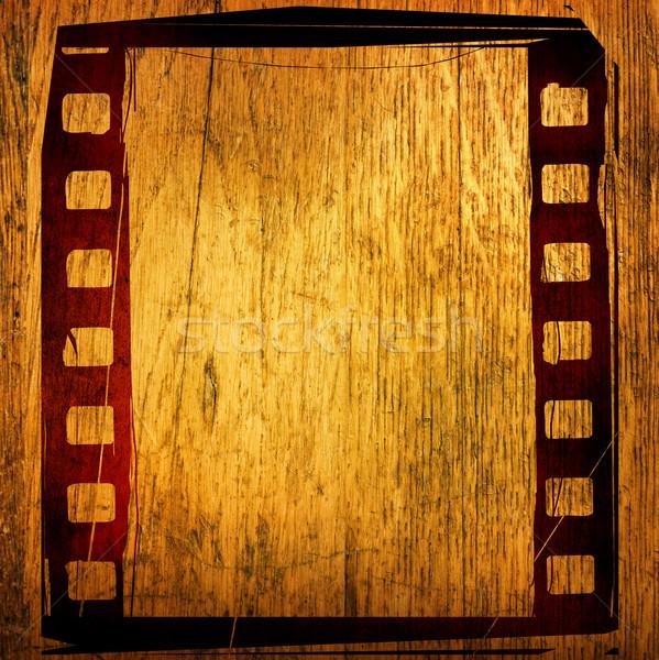 кинопленка текстуры фоны пространстве фон Сток-фото © ilolab