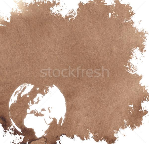 aged Europe map-vintage artwork Stock photo © ilolab