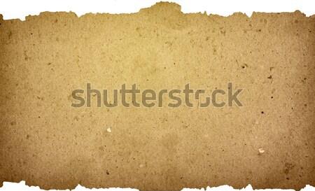 Vintage бумаги старой бумаги текстуры идеальный пространстве Сток-фото © ilolab