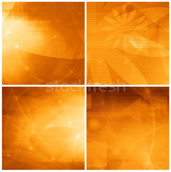 Abstrakten Galaxie perfekt Raum Text Bild Stock foto © ilolab