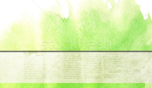 Rétro grunge Creative papier texture Photo stock © ilolab