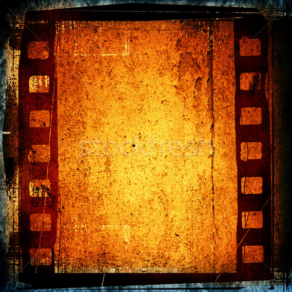 Magnifique bande de film textures horizons espace film Photo stock © ilolab