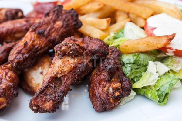 Chicken wings  Stock photo © ilolab