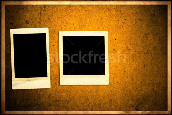 Vintage natychmiastowy Fotografia grunge tekstury Zdjęcia stock © ilolab