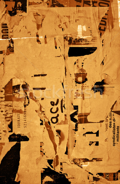 Old posters Stock photo © ilolab