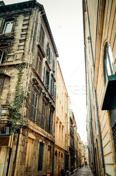 old town in bordeaux city Stock photo © ilolab