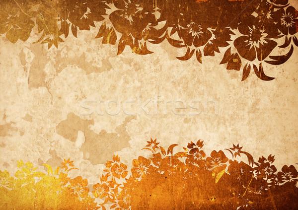 Kína stílus textúrák hátterek űr szöveg Stock fotó © ilolab