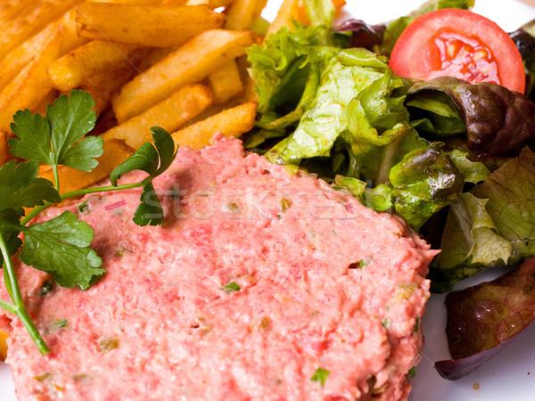 tasty Steak tartare  Stock photo © ilolab