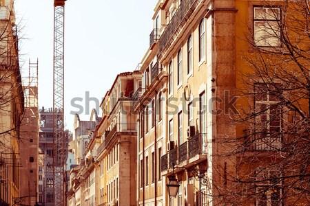 Vue sur la rue vieille ville ville France Europe Photo stock © ilolab